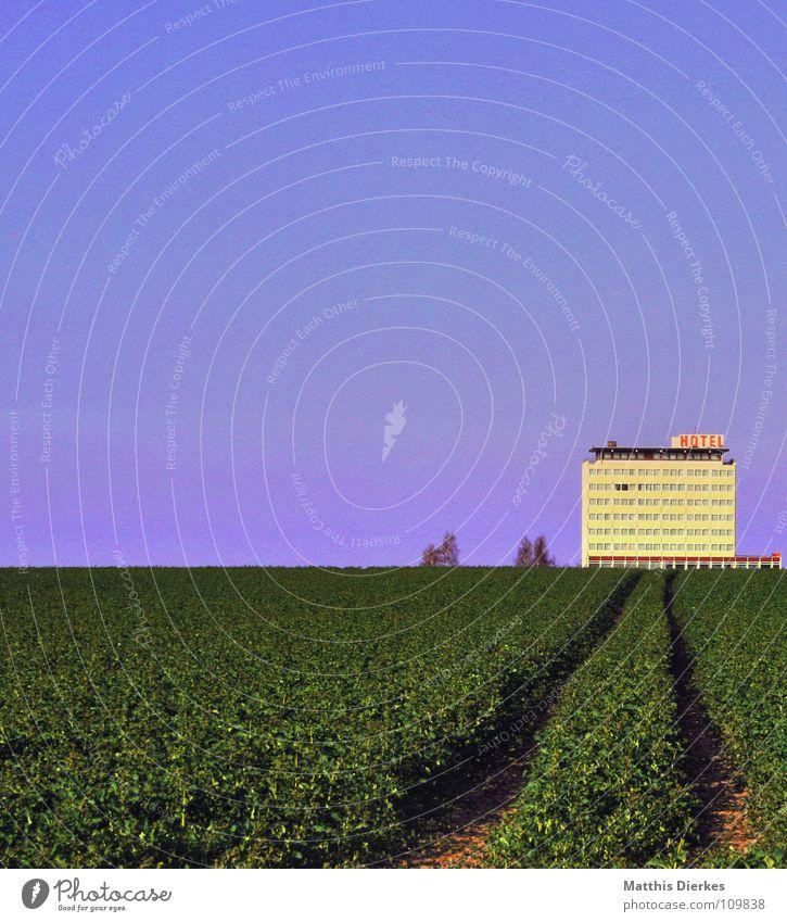 .: HOTEL :. schön Baum Meer Fenster Landschaft Freiheit Gefühle Wege & Pfade Gebäude Denken Horizont Feld Schriftzeichen Hotel Landwirtschaft