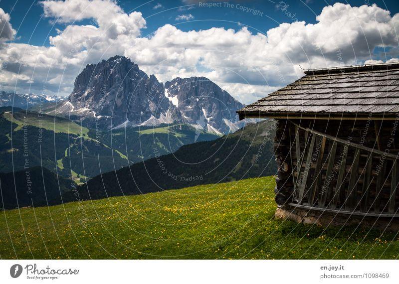 ...schade... Ferien & Urlaub & Reisen Tourismus Ausflug Abenteuer Ferne Freiheit Sommer Sommerurlaub Berge u. Gebirge Natur Landschaft Wolken Frühling Gras