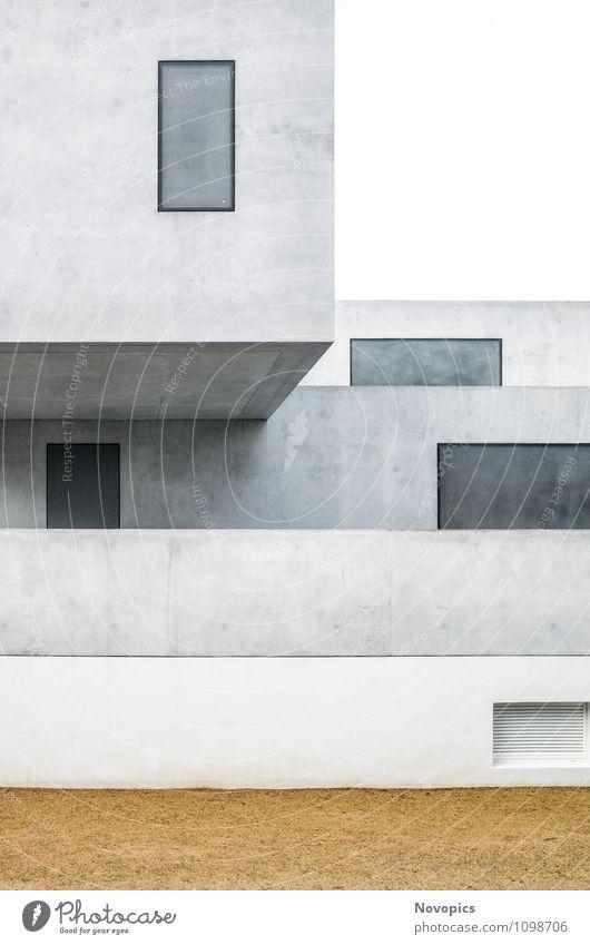 Bauhaus master house II Haus Gebäude Architektur Fassade Sehenswürdigkeit Wahrzeichen Denkmal Sand Bauhausstil Avantgarde klassisch Moderne Baushausstyle