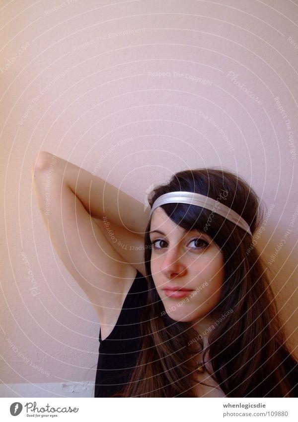 nathalie schön Zufriedenheit silber langhaarig beruhigend Haarband
