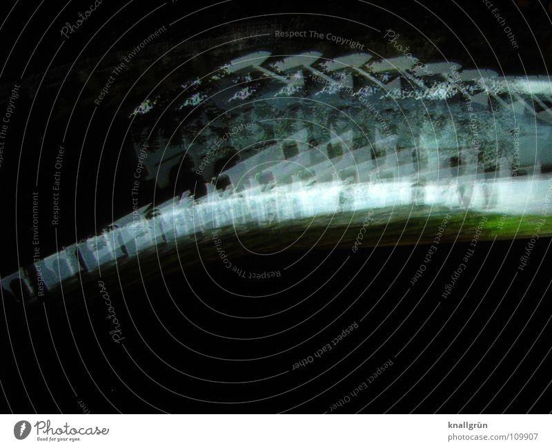 Great Speed Geschwindigkeit schwarz grün Licht Farbe Bewegung Fotokunst blau
