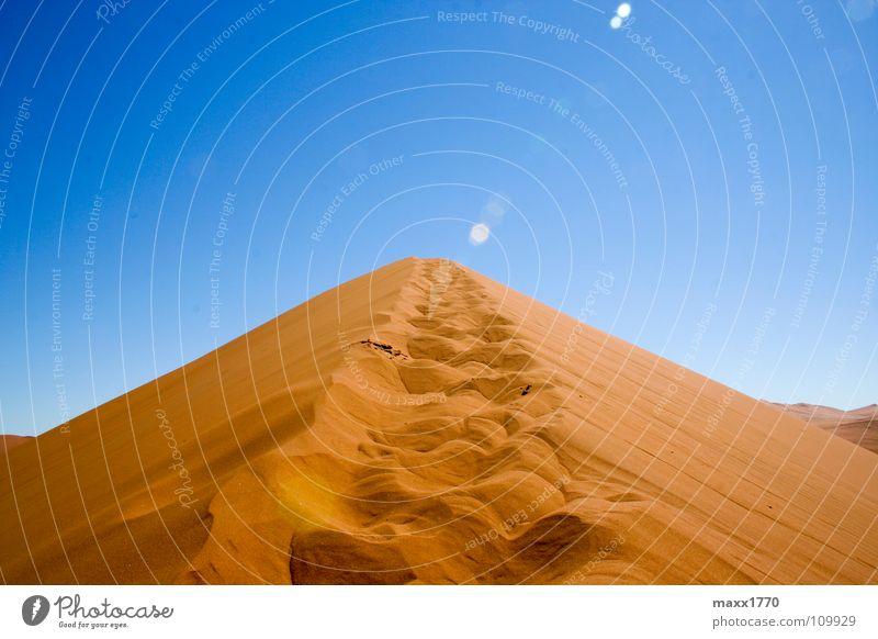 Dune 45 Ferien & Urlaub & Reisen Sand wandern Afrika Wüste Stranddüne Namibia