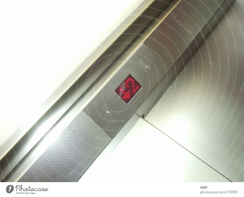 elevator floor2 Fahrstuhl Elektrisches Gerät Technik & Technologie Elevator Stockwerkanzeige abwärts