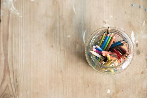 a bundle of colorful joy Farbstoff Kunst Schule Kreativität Grafik u. Illustration Zusammenhalt zeichnen Kindergarten Schreibstift Kindererziehung
