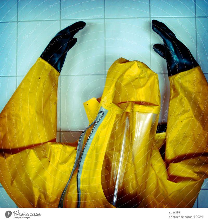 Protektion Schutzanzug Säure retten löschen Lauge Handschuhe brennen Atemschutzmaske Industrie Bekleidung Öffentlicher Dienst Brand Feuerwehr ABC Waffen Chemie