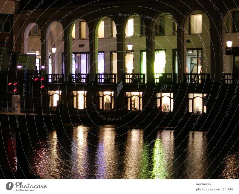 HH by Nights Alster Nacht Fototechnik Hamburg Arkaden