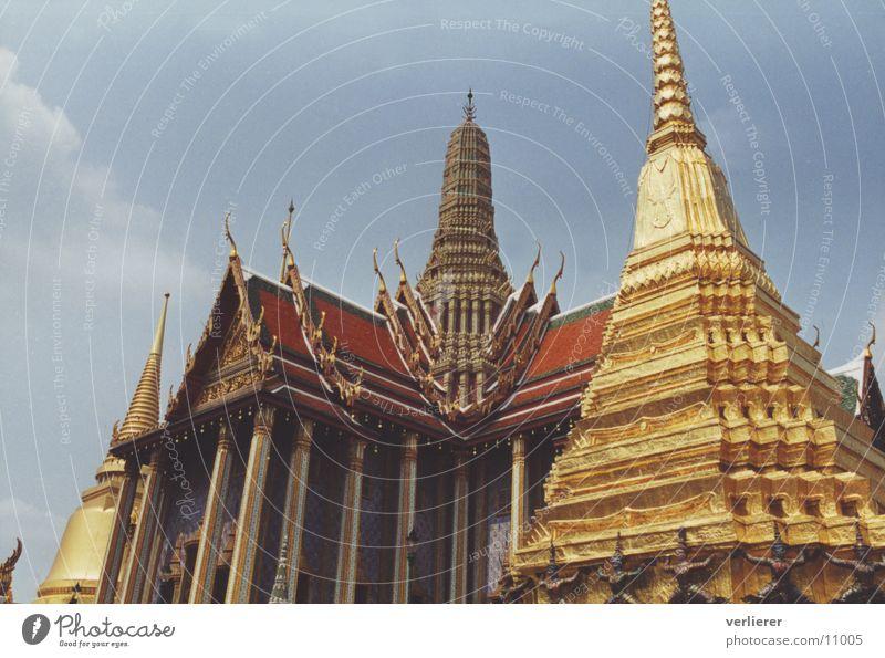 wat phra kaew Tempel Thailand Bangkok Pagode Architektur