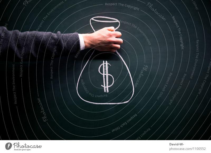 Schulden Mensch Leben Senior Lifestyle Arbeit & Erwerbstätigkeit Erfolg Arme Armut kaufen Geld Geldinstitut Dienstleistungsgewerbe Wirtschaft Handwerk Handel