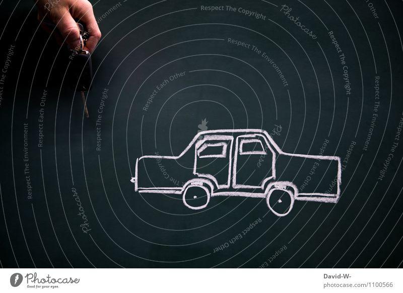 Autoschlüssel Schlüssel auto pkw Fahrzeughalter Führerschein PKW Verkehr Außenaufnahme Autofahren Straßenverkehr führerscheinprüfung Verkehrsmittel