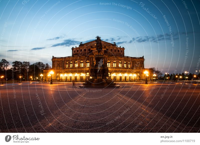 letzter Akt Ferien & Urlaub & Reisen Stadt Gebäude Deutschland leuchten Tourismus Ausflug Platz Kultur historisch Bauwerk Denkmal Wahrzeichen Sehenswürdigkeit