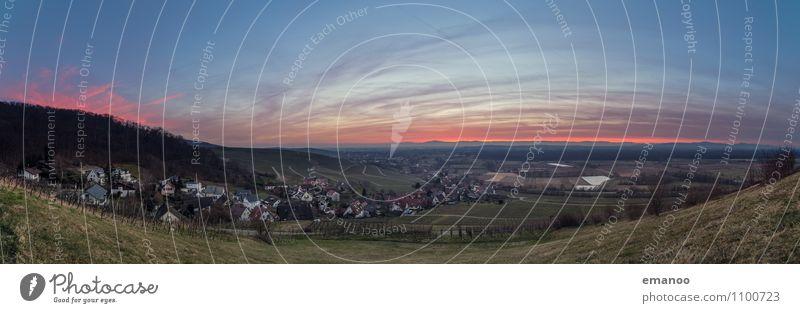 Weinberg Weitblick Ferien & Urlaub & Reisen Tourismus Ausflug Ferne Freiheit Berge u. Gebirge wandern Umwelt Natur Landschaft Himmel Wolken Horizont Klima