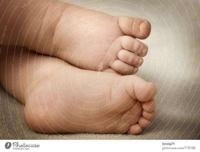 feet. Baby Kind klein gehen Zehen Fußsohle Barfuß Kleinkind foot laufen go went gone