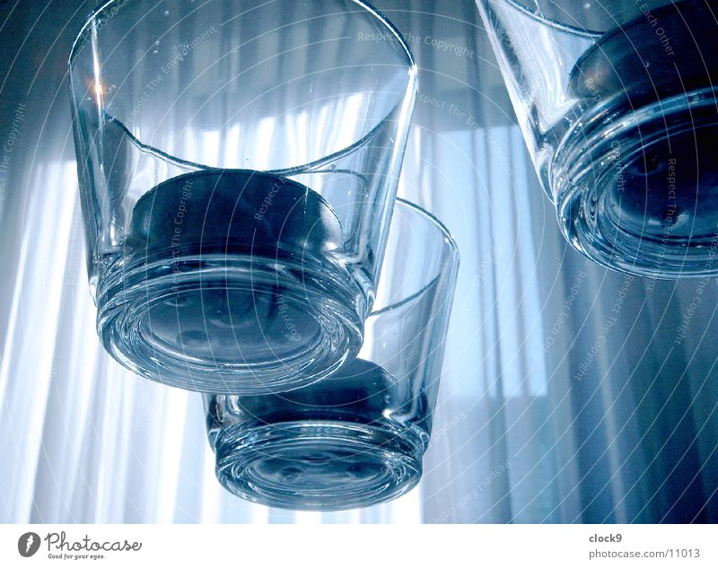 Gläser Glas Tisch Häusliches Leben