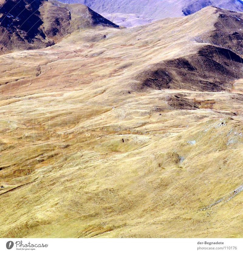 Mattis I Herbst Oktober Kanton Graubünden Schweiz Hügel Bergkuppe Bergkamm Horizont Berghang Freizeit & Hobby Ferien & Urlaub & Reisen wandern grün braun