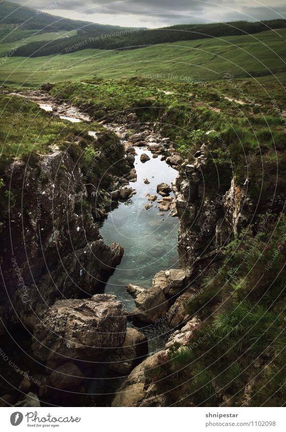 The Fairy Pools, Glen Brittle, Isle of Skye Freizeit & Hobby Ferien & Urlaub & Reisen Tourismus Ausflug Abenteuer Sommer Berge u. Gebirge Umwelt Natur
