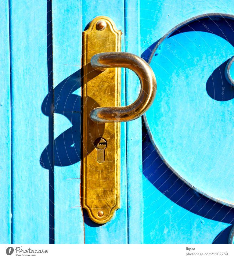metall braun marokko in Stil Design Dekoration & Verzierung Architektur Haus Palast Burg oder Schloss Ruine Gebäude Tür Stein Holz Metall Stahl alt dreckig