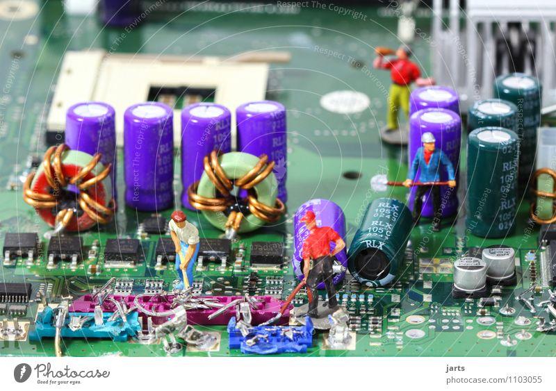 Kraft | IT baustelle VII Mensch Mann Erwachsene Arbeit & Erwerbstätigkeit Energiewirtschaft maskulin Büro Technik & Technologie Computer Zukunft