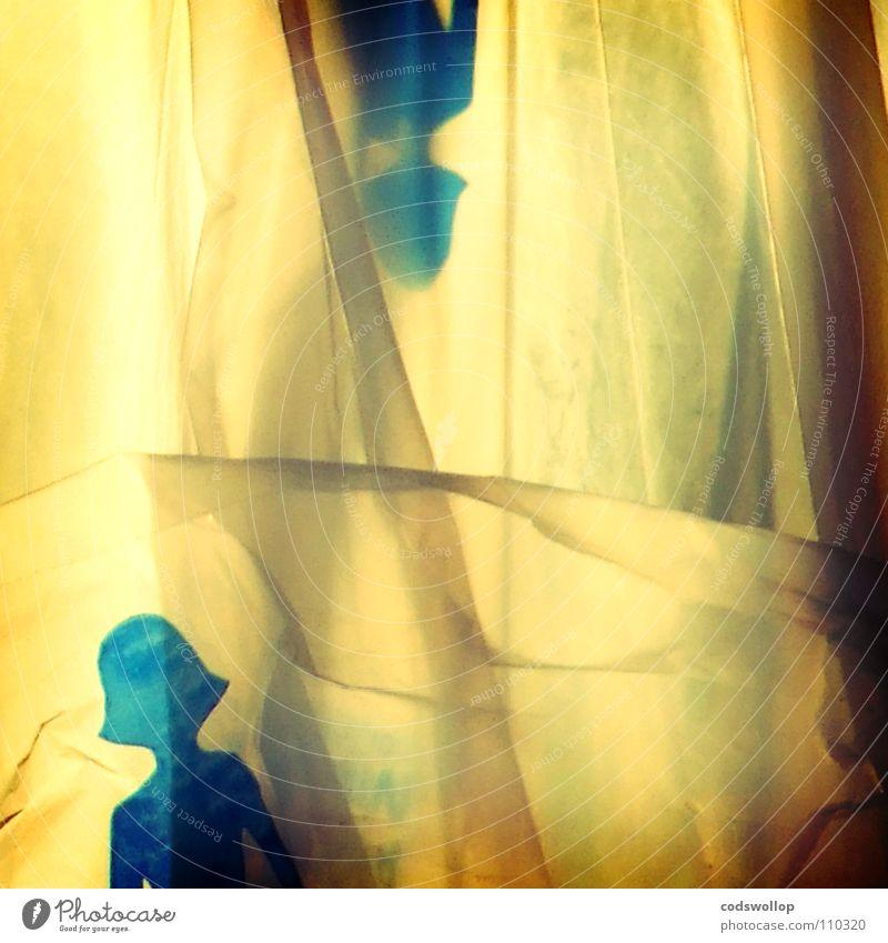 topsy and turvy Geister u. Gespenster träumen Traumfrau Haare & Frisuren Silhouette Frau Fußgänger entgegengesetzt obskur dreams backlit von hinten beleuchtet