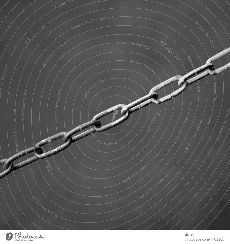 HMV  no entry Metall Kraft geschlossen Sicherheit Netzwerk Zusammenhalt Konzentration Grenze Stress Dienstleistungsgewerbe hängen diagonal Kette Verbote