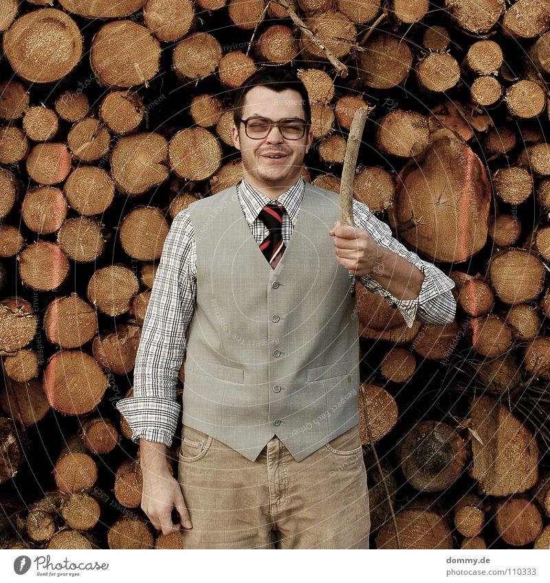 juhu Natur Mann Hand Freude Winter kalt Wärme Graffiti lustig Haare & Frisuren grau Holz hell braun Kraft Glas