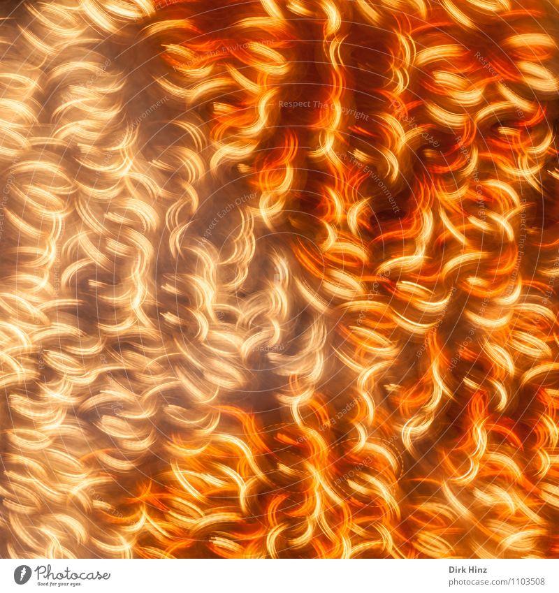 Crazy Lights II Energiewirtschaft glänzend leuchten hell verrückt orange Gefühle Leben Stress Nervosität bizarr chaotisch Kunst Stimmung Surrealismus Irritation