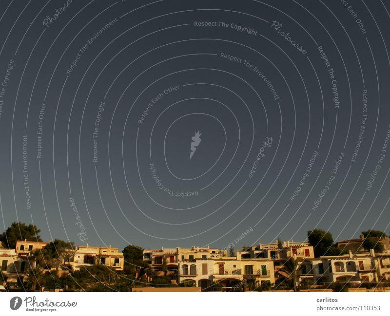 Käfighaltung Sommer Ferien & Urlaub & Reisen Gebäude Architektur Freizeit & Hobby Mallorca Blauer Himmel Süden Makler Knoblauch