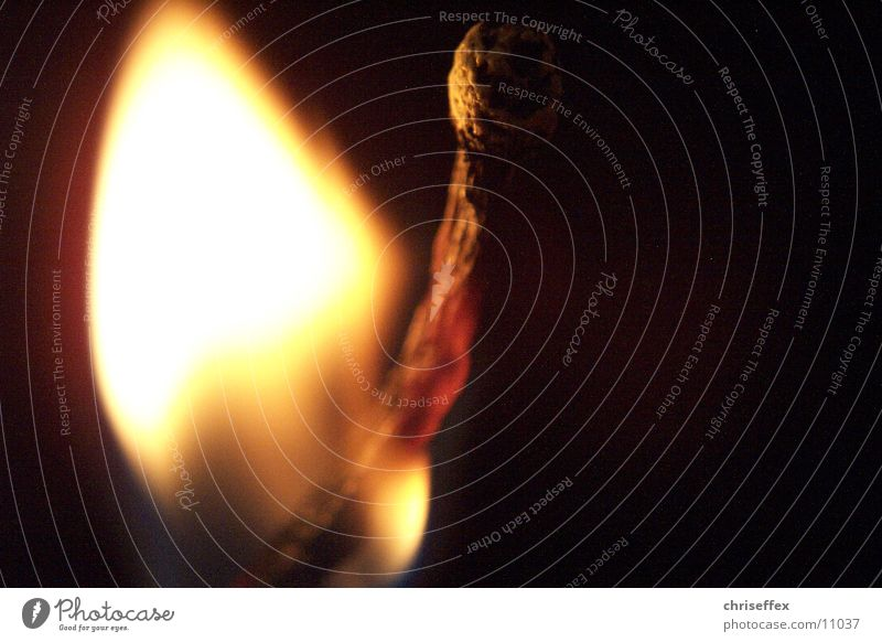 macro*fire schwarz Brand brennen Flamme Streichholz Makroaufnahme zünden Fototechnik