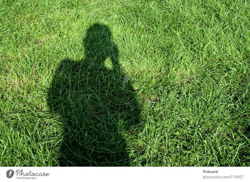 gras...!? Mensch Mann grün schwarz Erwachsene dunkel Graffiti Gras Glück Deutschland Zufriedenheit Europa Dinge Rasen lang Konzepte & Themen