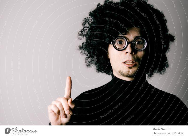 Jack wills wissen! Haare & Frisuren Denken Erfolg lernen Brille Bildung Neugier Konzentration Locken Lehrer Wissen streben Außenseiter lockig Brillenträger Afroamerikaner