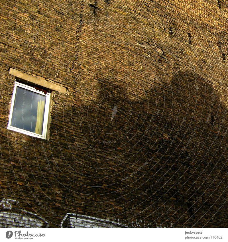 Brandwandqualität F 90-A+M. Stadt Sommer Umwelt Fenster Gebäude klein Zeit braun Häusliches Leben einzeln ästhetisch Aussicht Schönes Wetter einfach planen
