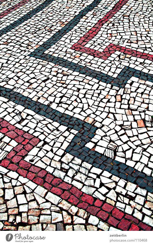 Semperoper Strand Stein Linie Platz Dresden Verkehrswege Kopfsteinpflaster Pflastersteine Wiedervereinigung biegen Mineralien protestieren Mosaik Vandalismus