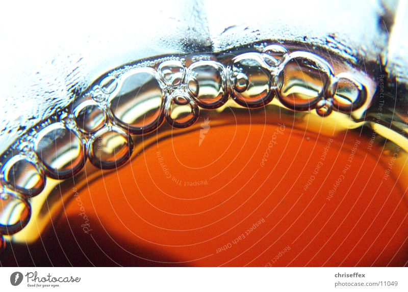 Blasen? Eistee Luftblase Cola Getränk Alkohol blasen Glas Flüssigkeit bubbles Blubbern