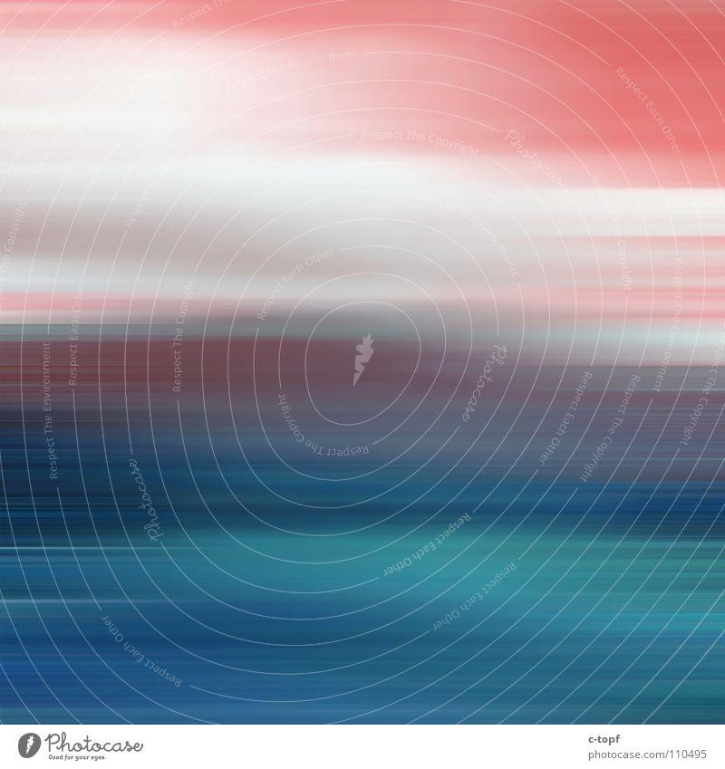 Erdbeerfelder für immer... Unschärfe Blindflug rot türkis Licht Farbenspiel Freude Langzeitbelichtung Kameratechnik blau Erdbeeren Himmel Bewegung movement