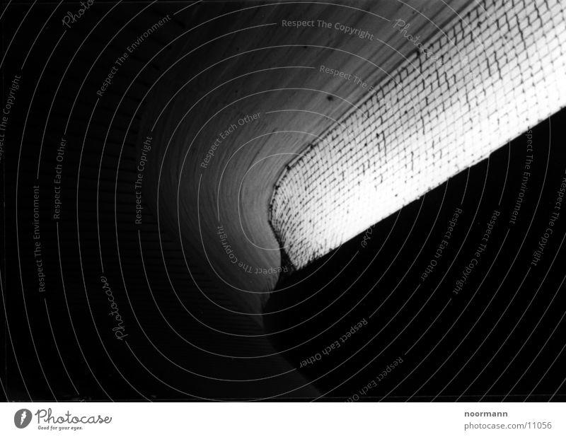 hell und rund dunkel Architektur rund Gitter