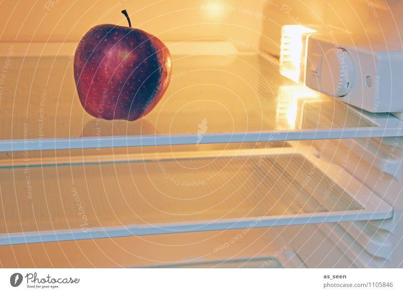 Kühlschrank 3.0 rot kalt Leben Essen Gesundheit Lampe Lebensmittel Gesundheitswesen liegen Wohnung Frucht orange authentisch Ernährung rund kaufen