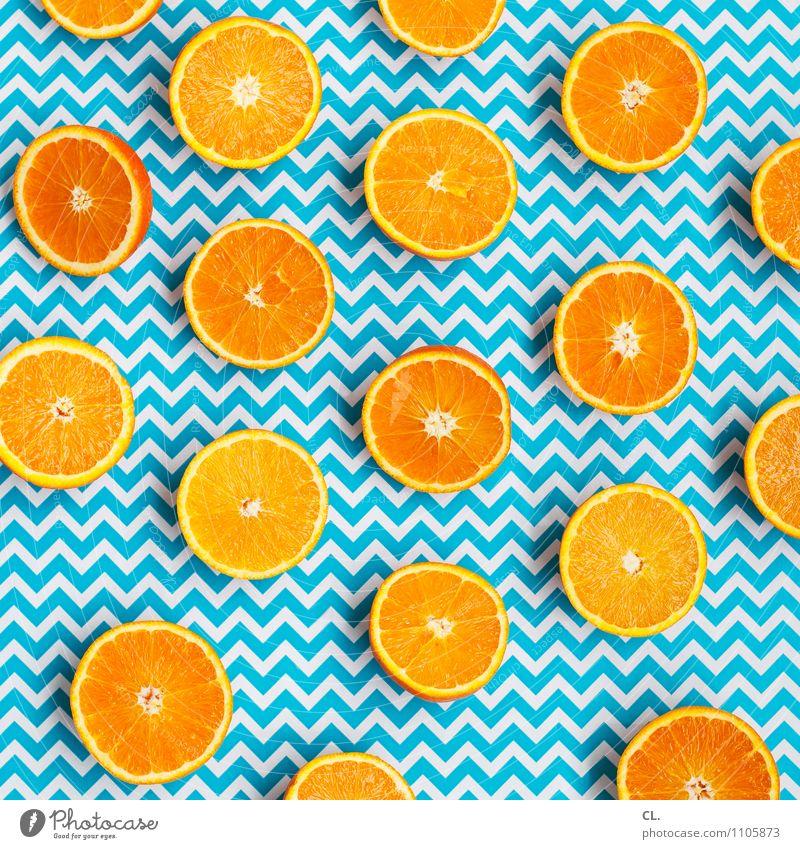 von wegen finster blau Farbe Sommer Sonne Gesunde Ernährung Freude Leben Essen Gesundheit Lebensmittel Frucht orange frisch Orange Fröhlichkeit ästhetisch