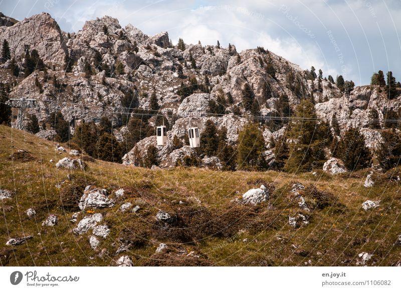 Steinerne Stadt Himmel Natur Ferien & Urlaub & Reisen Sommer Landschaft Berge u. Gebirge Herbst Frühling Gras Felsen Tourismus Ausflug Abenteuer