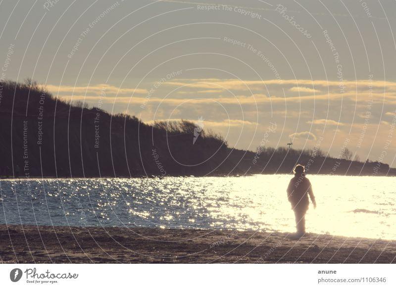 meer Lichter Gesundheit Wellness Leben Kur Freizeit & Hobby Ferien & Urlaub & Reisen Tourismus Ausflug Ferne Meer Spaziergang Mensch Umwelt Natur Schönes Wetter