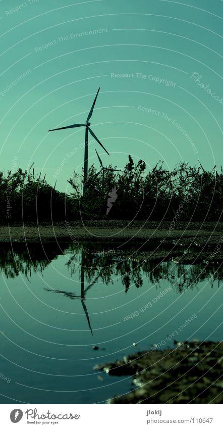 Generators VI Himmel Wiese Gras Luft Kraft Feld Industrie Energiewirtschaft Elektrizität Technik & Technologie Rasen Netz Klarheit Windkraftanlage Unternehmen