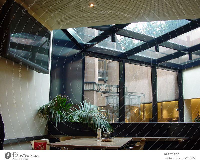 Kantine Architektur Speisesaal modern Glas