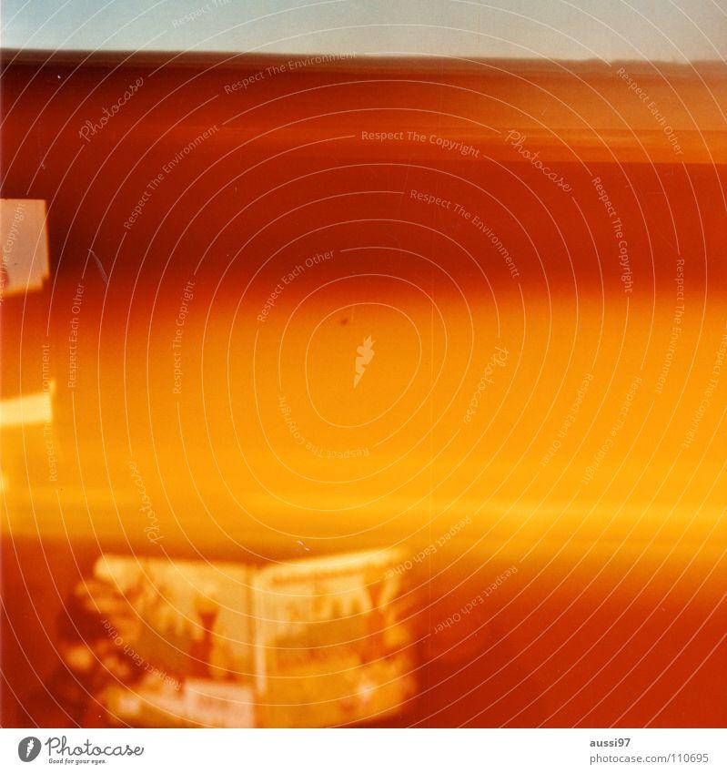 venturesome 3 Licht Explosion gelb Holga abstrakt Farbe Lomografie Reflexion & Spiegelung Licht auf Film Lightleaks