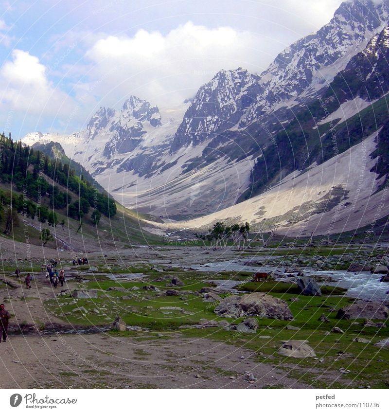 EDGE OF HIMALAYA Indien Jammu, Ladakh, Kaschmir Gletscher Ferien & Urlaub & Reisen weiß Berge u. Gebirge Erde Amerika Nationen Himalaya Natur Schnee Eis