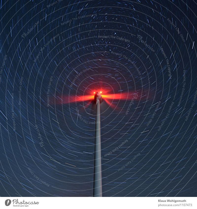 Im Malstrom der Zeit Motor Getriebe Zeitmaschine Technik & Technologie Fortschritt Zukunft Energiewirtschaft Erneuerbare Energie Windkraftanlage Himmel