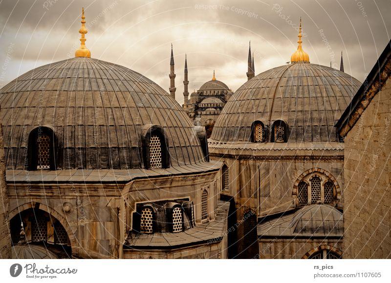 Istanbuls Wahrzeichen Architektur Gebäude ästhetisch Kirche Hauptstadt Stadtzentrum Sehenswürdigkeit Altstadt Hafenstadt
