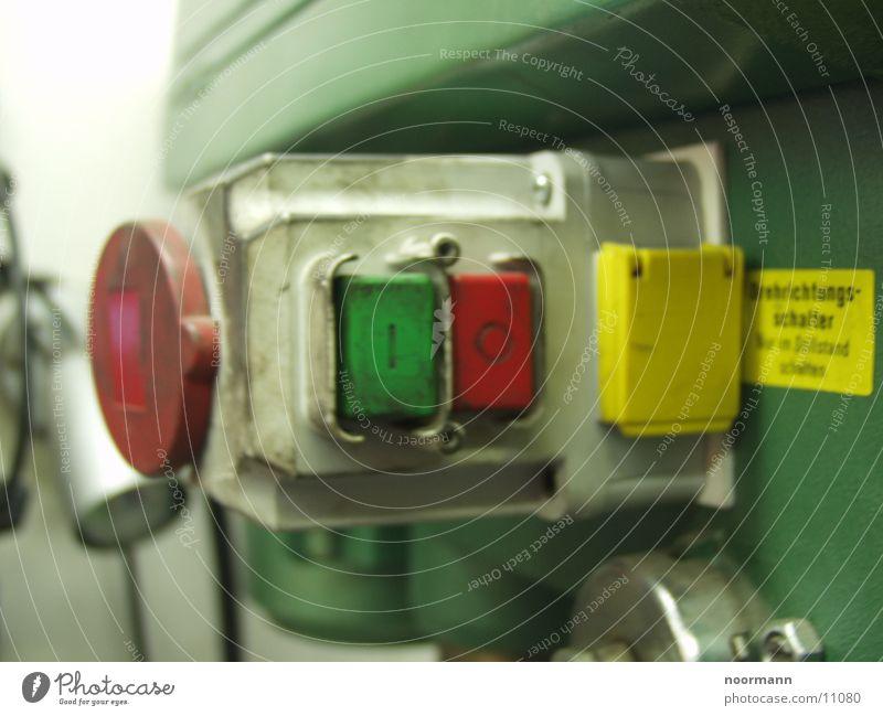 Bohrmaschine grün rot Technik & Technologie Schalter Elektrisches Gerät Cee