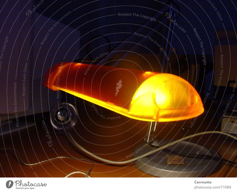 orangelight Lampe Stil Fototechnik