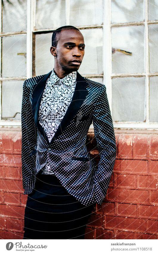 Stil. Mensch Jugendliche schön 18-30 Jahre Erwachsene Stil Zeit Lifestyle Mode maskulin elegant Bekleidung Zukunft Coolness stark Model