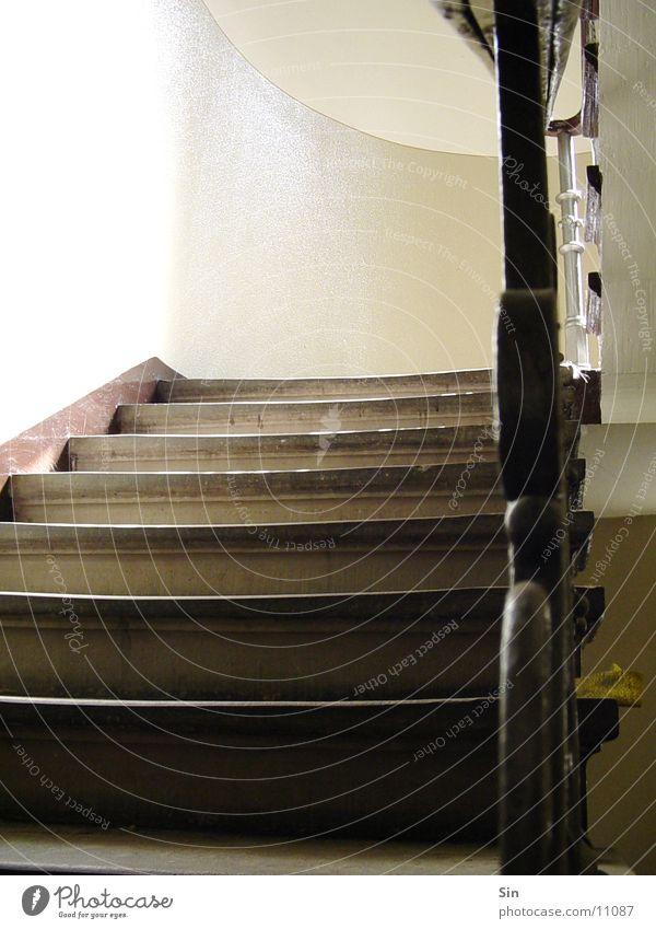 Treppenaufgang Haus Flur Architektur Geländer Stein