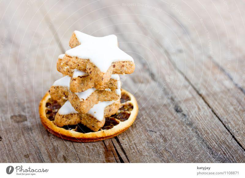 Zimtsterne Weihnachtsgebäck Weihnachten & Advent aromatisch Kräuter & Gewürze Dezember Backwaren Geschmackssinn Postkarte Jahreszeiten Konditorei Plätzchen