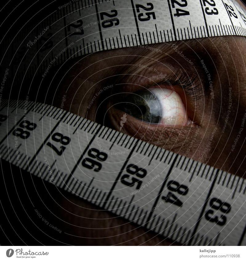 rechenkünstler Norm Ziffern & Zahlen Maßband Skala Zentimeter Millimeter Lineal verrückt Weisheit Mathematik Geometrie lernen Wahnsinn Theorie Apokalypse Mensch